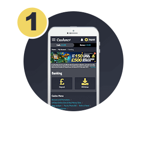 Pay by phone bill Step 1: Login and go to banking