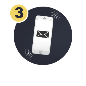 Pay by phone bill Step 3: SMS Confirmation