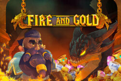 Fire and Gold online slots at Cashmo online casino
