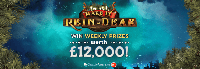 Who was able to Make it Rein-Dear with Cashmo Casino's Christmas competition?