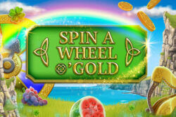 Spin A Wheel O'Gold in Cashmo Casino - Game of the Month - Up to 35 free spins - Play Today