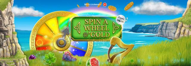 Prepare for an Irish adventure in Spin a Wheel O' Gold Mobile Slots