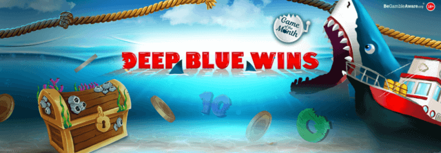 Get ready to take to the waters of Deep Blue Wins at Cashmo online casino!