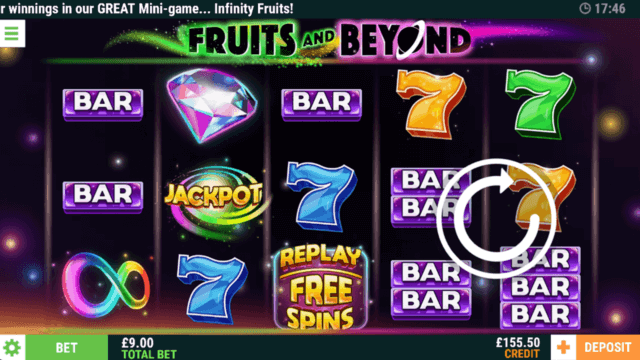 Play Fruits and Beyond Online Slots in Cashmo Mobile Casino