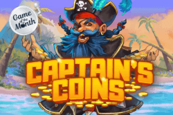 Game of the Month - Captain's Coins - Online Slots - Cashmo