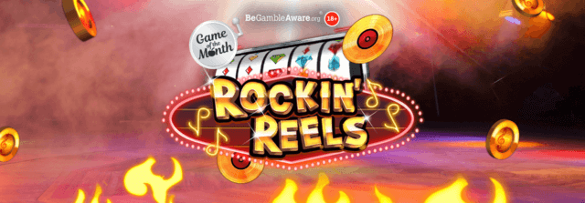 Can you record a hit on Cashmo's Rockin' Reels?